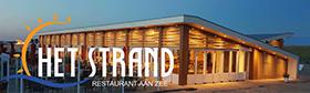 Het Strand restaurant aan zee